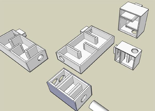 Acoustical Baffles for HVAC