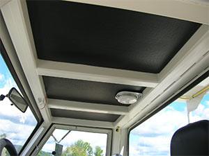 Perforated Vinyl Faced Foams Installation Mining Truck